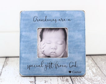 Grandma Grandmother Gift Religious Special Gift From God Personalized Picture Frame