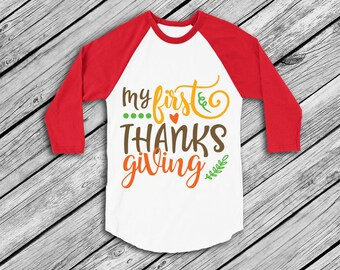 My 1st Thanksgiving, My first Thanksgiving SVG, instant download, Christmas, eps, png, pdf Cut File, svg file, dxf Silhouette