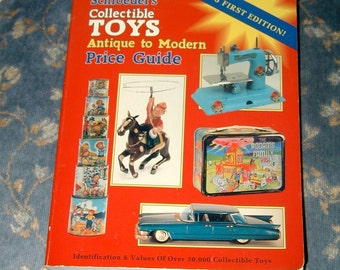 Collecting toys antique to modern reference book and guide rare collectibles