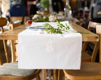 White Table Runner - Matyo White