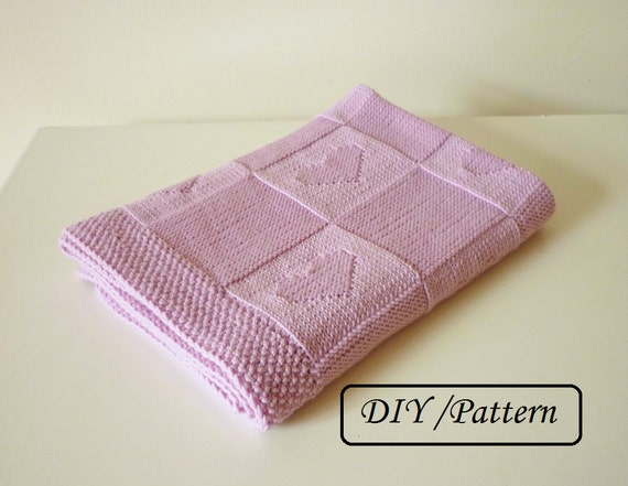 Knit Baby Blanket Pattern Baby Blanket Pattern Baby