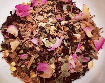 Love Potion No. 13 - Roses, Cinnamon, Black Tea, Catuaba Bark, Sexy Tea