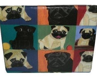 Pug Gift Wrap - 3 Rolls