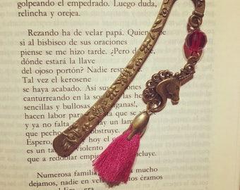 Bookmark and metal Unicorn