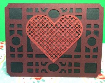 Valentine valentines card for him husband boyfriend fiancé love masculine