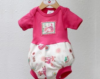 Woodland Animal Baby Romper Trendy Baby Girl Clothes Bubble Romper Summer Outfit Cotton Fox Owl Baby Girl Romper Baby Girl Gift 3 6 9 12 18
