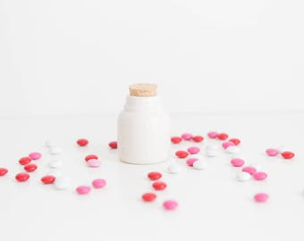 Wedding favor jars | Spice Jar | Wedding Favor | Free US Shipping | Handmade Ceramic from Charleston, SC studio