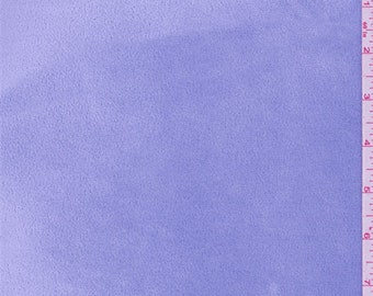 Periwinkle Velour, Fabric By The Yard