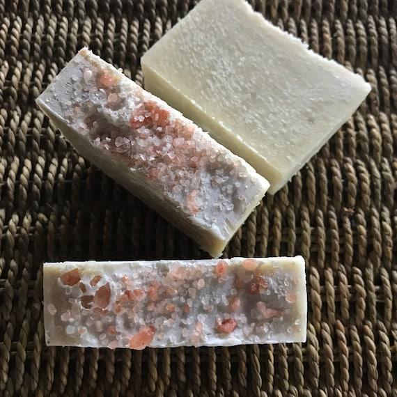 Sea Salt and Sacred Herb Goat Milk Soap