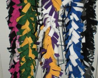 Custom Colors You Choose Long Fleece Boa Scarf