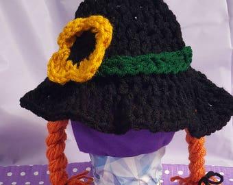 Witch Hat - braids