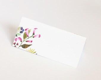 Coloque la tarjeta, flores, decoración de la mesa de la boda, floral, marca lugar, boda, flores, artes de la mesa, decoración, fiesta, papergoods