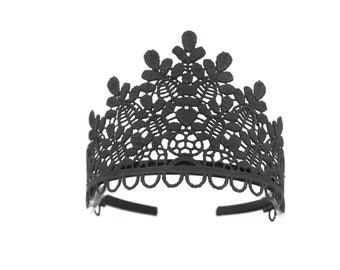 Ready to Ship || Sage lace tiara || fits young ladies + women || several color options