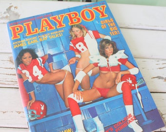 September 1977 Vintage PLAYBOY Magazine. collectible. entertainment. memorabilia. sexy. collectible. hugh heffner. playmate. gift for him