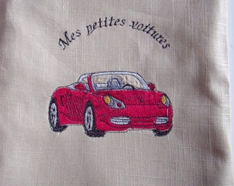 Pouch bag storage pocket for small cars