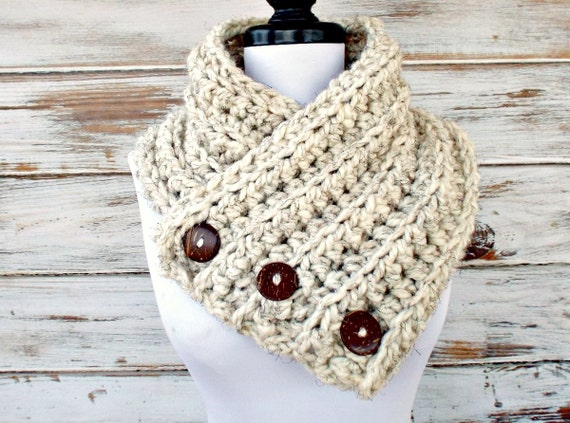 Instant Download Crochet PATTERN PDF - Crochet Cowl Chunky Scarf - Wellington Thick Cowl Scarf - Ribbed Cowl Pattern Ribbed Scarf Pattern