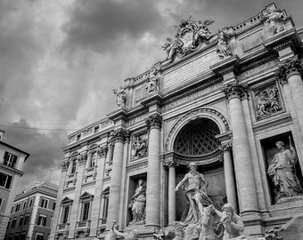 Trevi Foutain, Trevi Fountain Poster, Rome Print, Rome Photography,  Rome Art, Rome Poster, Travel Photography, Photography Print, Italy