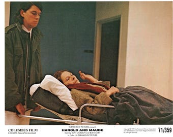 "Harold And Maude – 1971 -  8"" x 10"" color Swiss still"