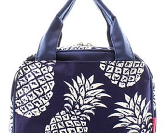 SAMPLE SALE/Personalized Lunch Bag/Pineapple print