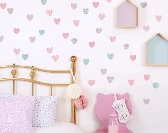 Little Hearts Wall Stickers