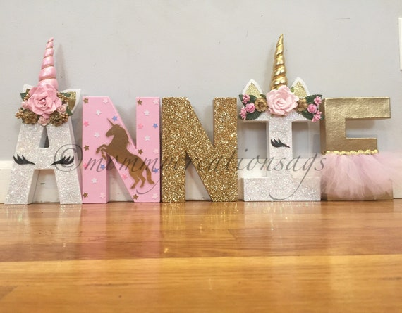 Baby Room Name Letters