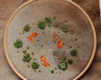 Goldfish Embroidery