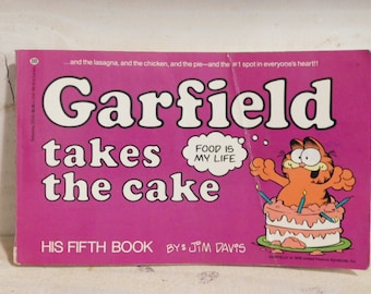Vintage Garfield Book
