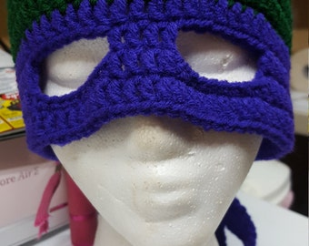Turtle hat purple