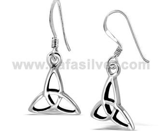 Celtic Knot Irish Earring,Silver Earring ,Sterling Silver Earring