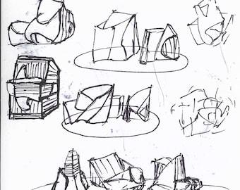 Architect sketches #6