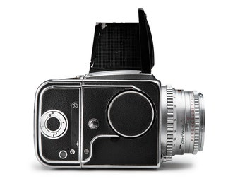 Photograph. Antique Camera, Hasselblad, Black and White