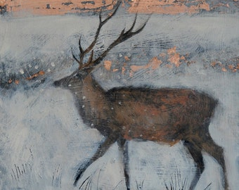 Catherine Hyde print: 'The ice filled air'