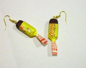 Gourmet caramel earrings