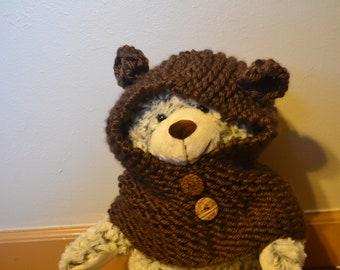 Bear Cowl for Children