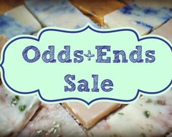 Lavender Lovers Odds + Ends Soap Scrap Sale