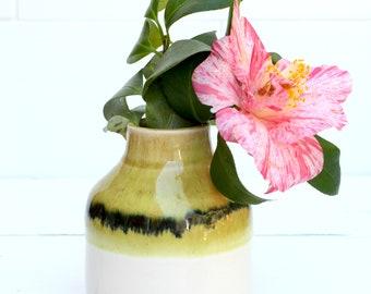 ceramic vase // bottle vase // boho decor