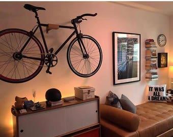 Minimal Bicycle Bike Wall Hanger Mount Storage Bike Rack Bike Hanger