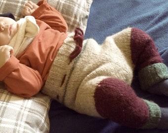 Diaper cover in wool / Wool diaper cover