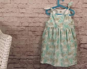 Little Girl Dress Size 7/8 // Adjustable Dress // Gifts for Girls // Unicorn Dress