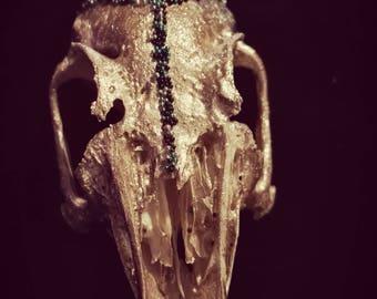 Skull Rabbit Gold