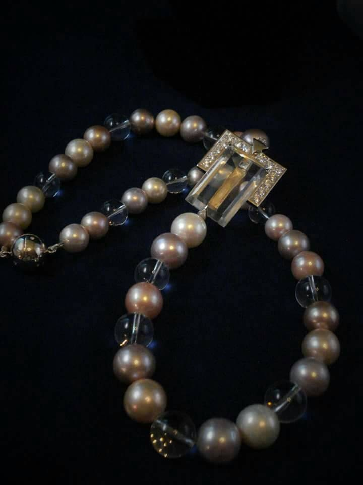 Total Eclipse of the Heart Jewellery Haus presents Edison Pearls w