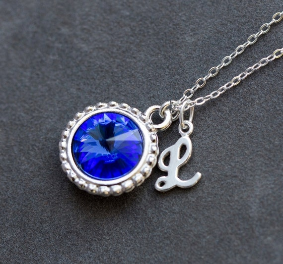 New mom mothers necklace september birthstone jewelry aloadofball Images