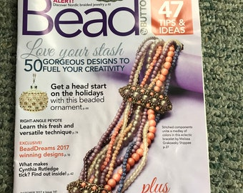 Bead & Button Magazine, October 2017, bead, button, magazine, Issue 141