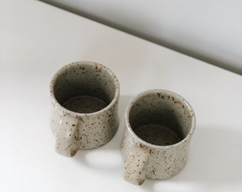 Ceramic Mug - Wheel Thrown - Handmade Pottery