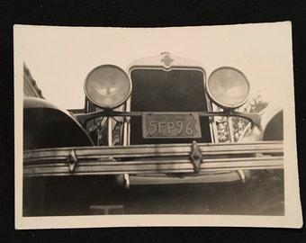 1929 Chevrolet Vintage Snapshot Photo, Original Gelatin Silver Photograph