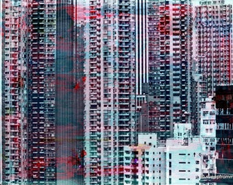 HONG KONG Sky VII by Sven Pfrommer - Artwork is ready to hang