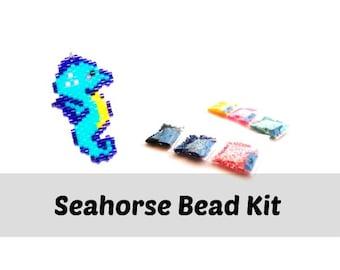 Seahorse Beading Kit, Miyuki Delica 11/0