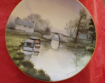 Coalport. Thames plate