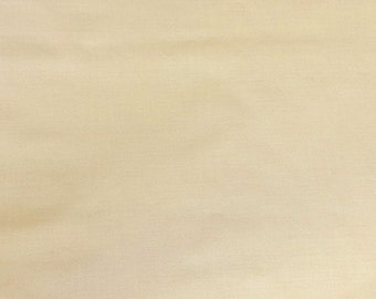 "Beige 100% Cotton Voile Fabric Solid Pattern 60"" Wide By the Yard Apparel, Quilting"