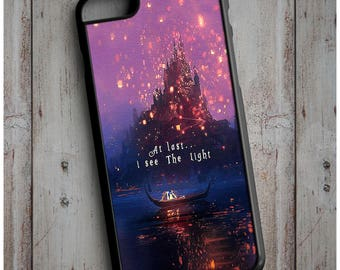 First I See the Light Tangled Disney - Cool New Case Cover for any iPhone